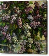 Lilacs Acrylic Print by Tigran Ghulyan