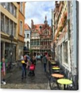 Lille Streets Series #2 Acrylic Print