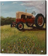 Lillians Tractor Acrylic Print