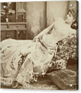 Lillie Langtry (1852-1929) Acrylic Print