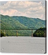Lilly Bridge - Hinton West Virginia Acrylic Print