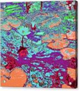 Lily Pads And Koi 24 Acrylic Print