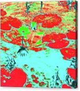 Lily Pads And Koi 8 Acrylic Print
