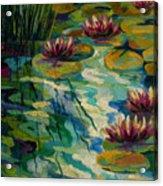 Lily Pond II Acrylic Print