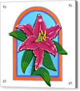 Lily Too Acrylic Print