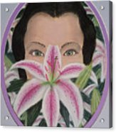 Lily's Eyes Acrylic Print