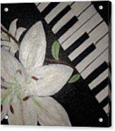 Lily's Piano Acrylic Print