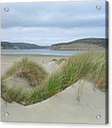 Limantour Spit On A Grey Day Acrylic Print