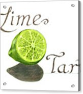 Lime Tart Acrylic Print