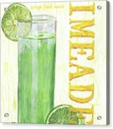 Limeade Acrylic Print