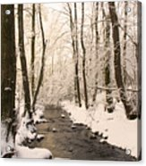 Limentra In Winter Acrylic Print