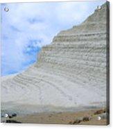 Limestone Cliffs Acrylic Print