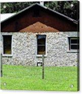 Limestone Family Home Acrylic Print