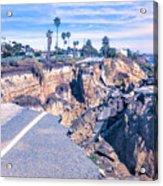 Limited Beach Access Acrylic Print