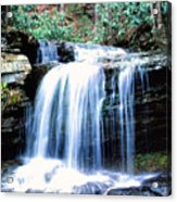 Lin Camp Branch Waterfall 1983 Acrylic Print
