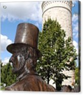 Lincoln At The Tower Acrylic Print