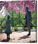 Lincoln-bedell Statue Westfield  Acrylic Print