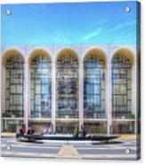 Lincoln Center Acrylic Print