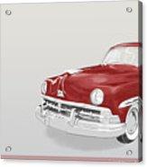 Lincoln Cosmopolitan Sedan Acrylic Print
