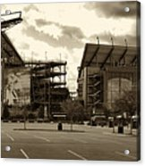 Lincoln Financial Field Acrylic Print by Jack Paolini
