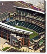 Lincoln Financial Field Philadelphia Eagles Acrylic Print by Duncan Pearson