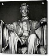 Lincoln Memorial Acrylic Print by Daniel Hagerman