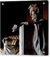 Lincoln Memorial In Washington D.c. Acrylic Print