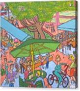 Lincoln Road Flea Market Acrylic Print