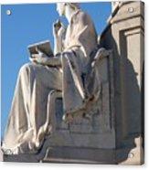 lincoln statue Gettysburg PA Acrylic Print