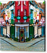 Lincoln's Steep Hill Acrylic Print