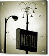 Lincolnwood Motel District Acrylic Print