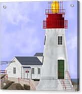 Lindesnes Norway Lighthouse Acrylic Print