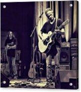 Lindsey Buckingham's Soundcheck Acrylic Print