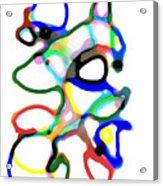 Line Design Creative Acrylic Print