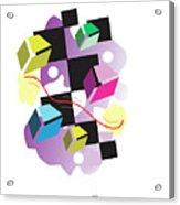 Line Drive #1 Acrylic Print