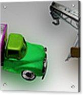Line Truckin Acrylic Print