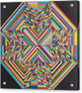 Linear Supersymmetry Acrylic Print