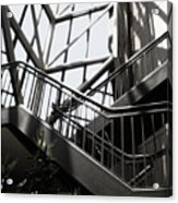 Lined Stairway - 200340 Acrylic Print