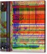 Lines Of Illusion Acrylic Print