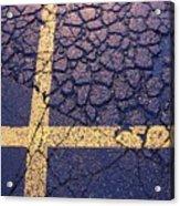 Lines On Asphalt I Acrylic Print