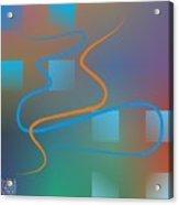 Linesoflife01 Acrylic Print