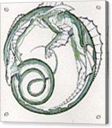 Ling Dragon Acrylic Print
