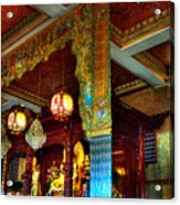 Lingyen Mountain Temple 1 Acrylic Print