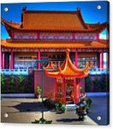 Lingyen Mountain Temple 11 Acrylic Print