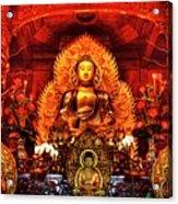 Lingyen Mountain Temple 4 Acrylic Print