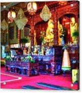 Lingyen Mountain Temple 5 Acrylic Print
