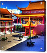 Lingyen Mountain Temple 8 Acrylic Print