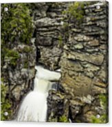 Linville Falls The Upper View Acrylic Print