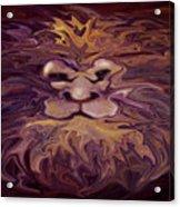 Lion Abstract Acrylic Print