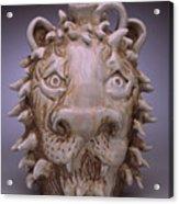 Lion Face Jug Acrylic Print